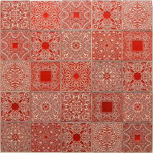10x10 czerwone